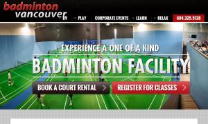 Badminton Vancouver